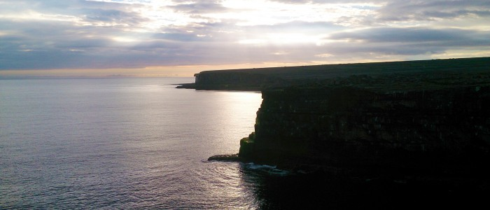 Sunset over the Atlantic from Inishmore, Aran Islands