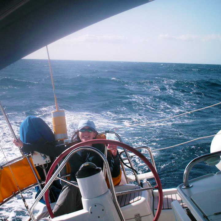 Relaxing aboard a Charter Ireland yacht under sail