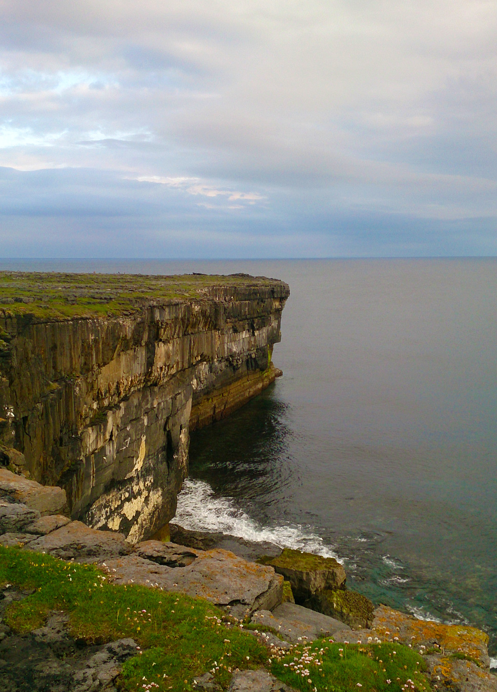 Atlantic cliffs on Inishmore, Aran Islands