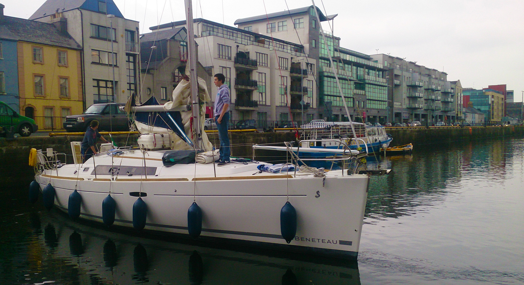 Súil Eile in Galway Harbour